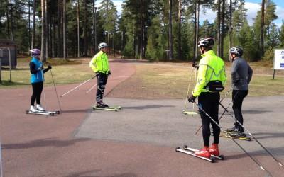 Mr. Pommer Adler på Träningsläger ala Blåbärsoppa Style! :)