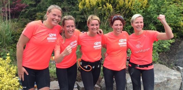 Framgångsrikt deltagande i Butlers Triathlon för Ingrid:Gopa